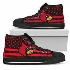 NCAA Louisville Cardinals High Top Shoes