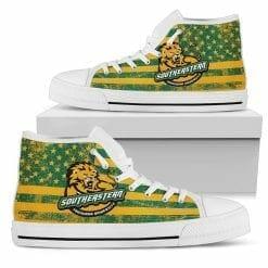 NCAA Southeastern Louisiana Lions High Top Shoes