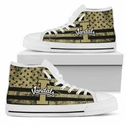 NCAA Idaho Vandals High Top Shoes