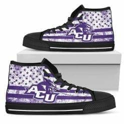 NCAA Abilene Christian Wildcats High Top Shoes