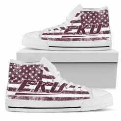 NCAA Eastern Kentucky Colonels High Top Shoes