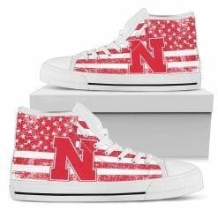 NCAA Nebraska Cornhuskers High Top Shoes