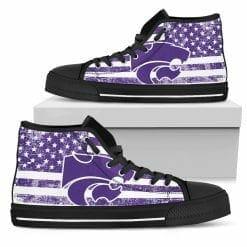 NCAA Kansas State Wildcats High Top Shoes