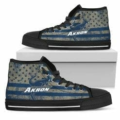 NCAA Akron Zips High Top Shoes