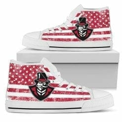 NCAA Austin Peay Governors High Top Shoes