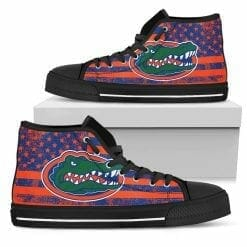 NCAA Florida Gators High Top Shoes