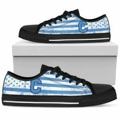 NCAA The Citadel Bulldogs Low Top Shoes