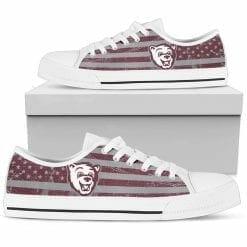 NCAA Montana Grizzlies Low Top Shoes