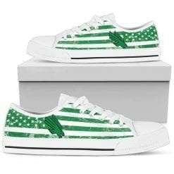NCAA North Texas Mean Green Low Top Shoes