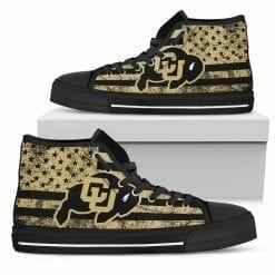 NCAA Colorado Buffaloes High Top Shoes