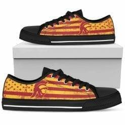 NCAA USC Trojans Low Top Shoes