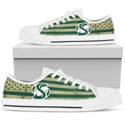 NCAA Sacramento State Hornets Low Top Shoes