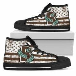 NCAA Brown Bears High Top Shoes