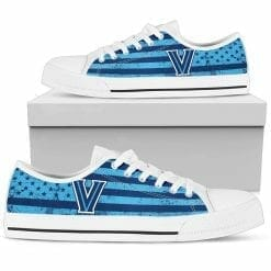 NCAA Villanova Wildcats Low Top Shoes