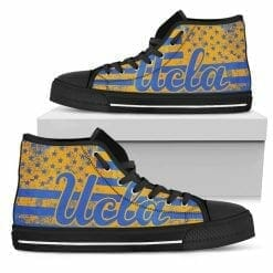 NCAA UCLA Bruins High Top Shoes