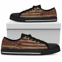 NCAA Texas State Bobcats Low Top Shoes