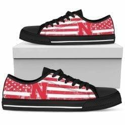 NCAA Nebraska Cornhuskers Low Top Shoes