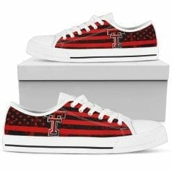 NCAA Texas Tech Red Raiders Low Top Shoes