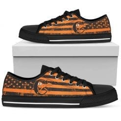 NCAA Campbell Fighting Camels Low Top Shoes