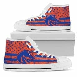 NCAA Boise State Broncos High Top Shoes