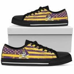 NCAA East Carolina Pirates Low Top Shoes