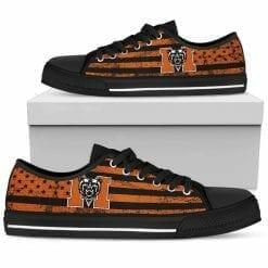 NCAA Mercer Bears Low Top Shoes