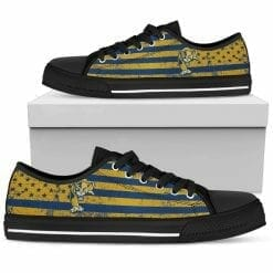 NCAA FIU Golden Panthers Low Top Shoes