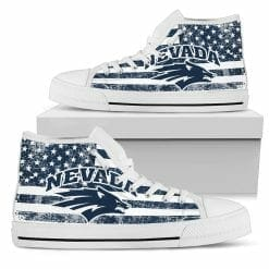NCAA Nevada Wolf Pack High Top Shoes