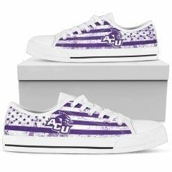 NCAA Abilene Christian Wildcats Low Top Shoes