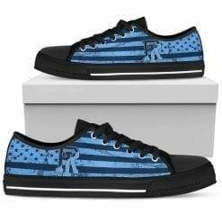 NCAA Rhode Island Rams Low Top Shoes