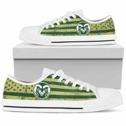 NCAA Colorado State Rams Low Top Shoes