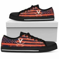 NCAA Virginia Cavaliers Low Top Shoes