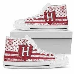 NCAA Harvard Crimson High Top Shoes