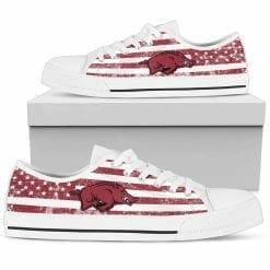 NCAA Arkansas Razorbacks Low Top Shoes