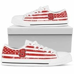 NCAA NC State Wolfpack Low Top Shoes