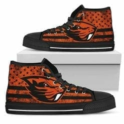 NCAA Oregon State Beavers High Top Shoes