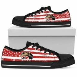 NCAA SIU Edwardsville Cougars Low Top Shoes