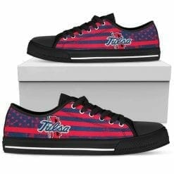 NCAA Tulsa Golden Hurricane Low Top Shoes