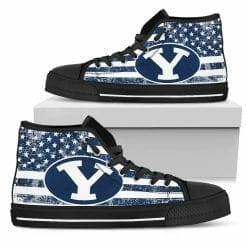 NCAA Brigham Young Cougars High Top Shoes