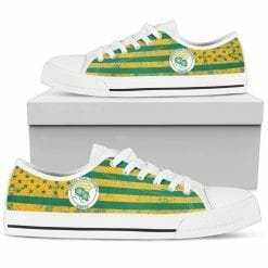 NCAA Norfolk State Spartans Low Top Shoes