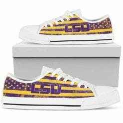 NCAA LSU Tigers Low Top Shoes