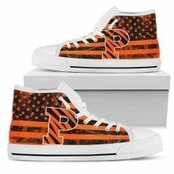 NCAA Princeton Tigers High Top Shoes