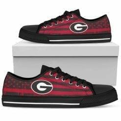 NCAA Georgia Bulldogs Low Top Shoes