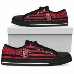 NCAA San Diego State Aztecs Low Top Shoes