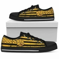 NCAA Arkansas-Pine Bluff Golden Lions Low Top Shoes