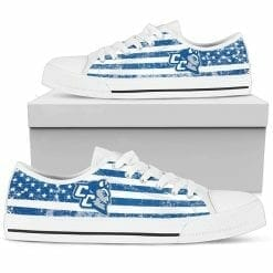 NCAA Central Connecticut State Blue Devils Low Top Shoes