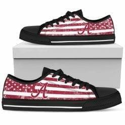 NCAA Alabama Crimson Tide Low Top Shoes