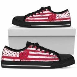 NCAA Wisconsin Badgers Low Top Shoes