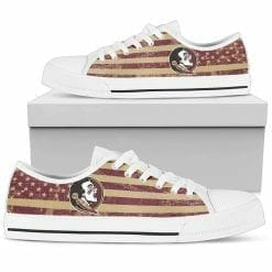 NCAA Florida State Seminoles Low Top Shoes