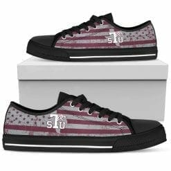 NCAA Texas Southern Tigers Low Top Shoes